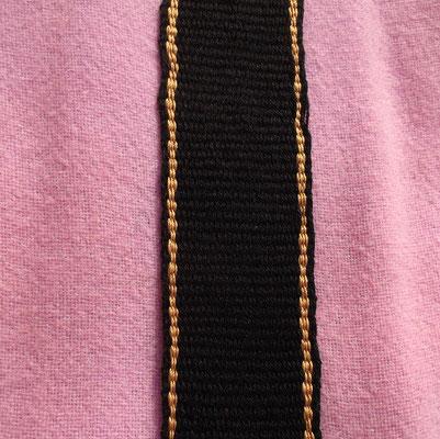 Goldclavi zum aufnähen Wolle und Seide