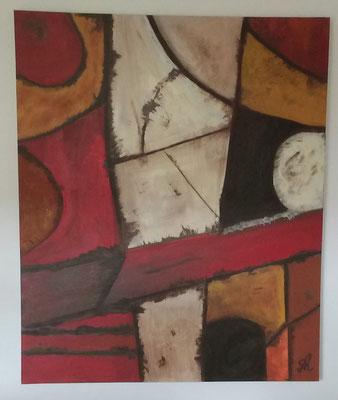 100 x 120 x 4 cm -- XXL Abstrakt - März 2016