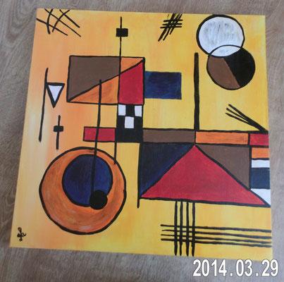 Hommage an Kandinsky  -    verkauft