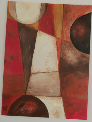60 x 80 cm - Abstrakt - März 2016