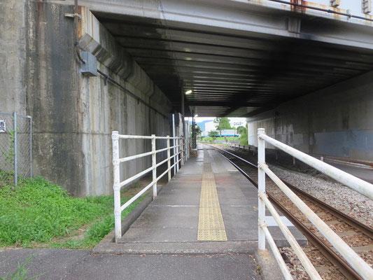 立野駅ホーム