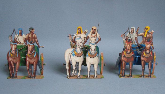 Schachtel 016 - Bild 2 - Ägypten Streitwagen  halbplastisch