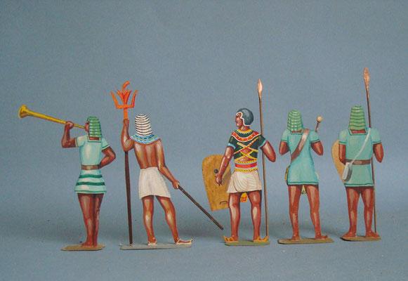Schachtel 006 - Bild 3 - Ägypten Infanterie grün