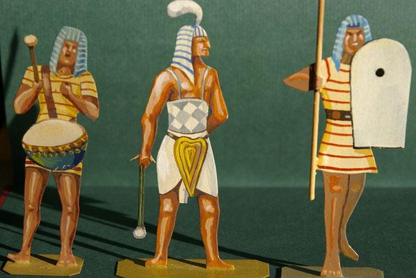 Ägypten Korps Rames II