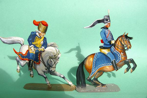 Schachtel 169 - Bild 9  - Preußen Stab: Zieten Husaren-Regiment Nr. 2 und Husar Nr. 7
