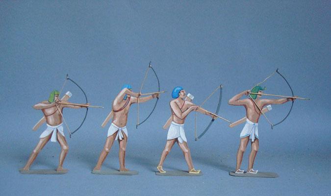 Schachtel 013 - Bild 3 - Ägypten Bogenschützen