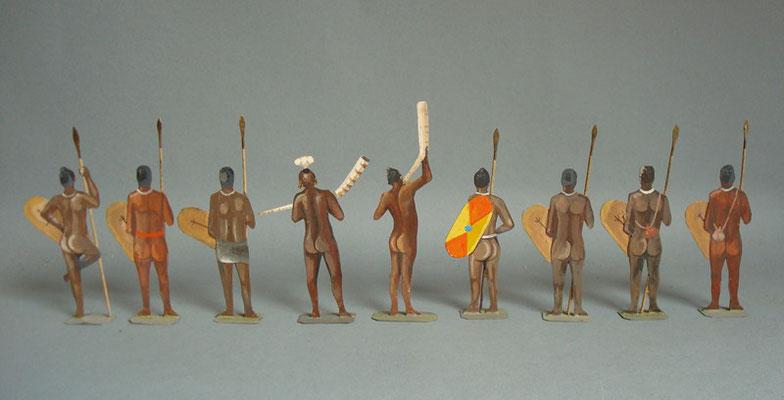 Schachtel 021 - Bild 3 - Äthiopier Speerträger