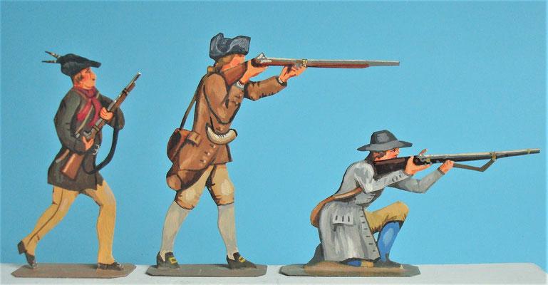 Schachtel 030  - Bild 7 - Neu - England, Miliz, Trapper, Farmer