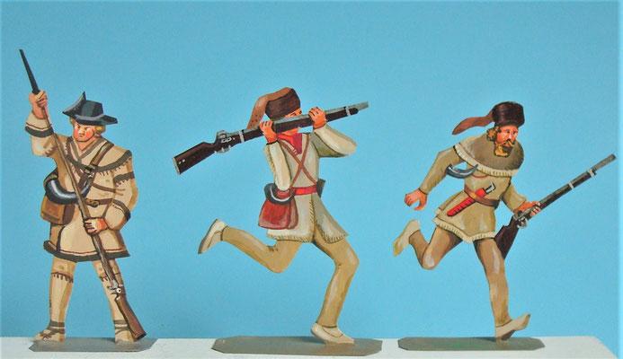 Schachtel 030  - Bild 13 - Neu - England, Miliz, Trapper, Farmer