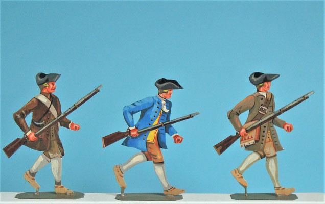 Schachtel 030  - Bild 15 - Neu - England, Miliz, Trapper, Farmer