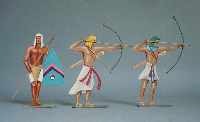 Schachtel 011 - Bild 2 - Ägypten Bogenschützen