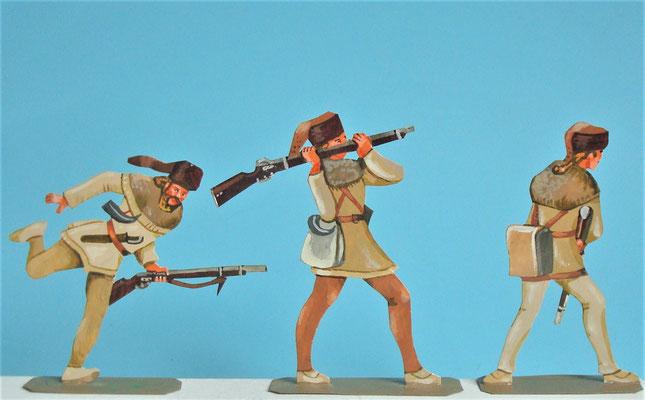 Schachtel 030  - Bild 11 - Neu - England, Miliz, Trapper, Farmer