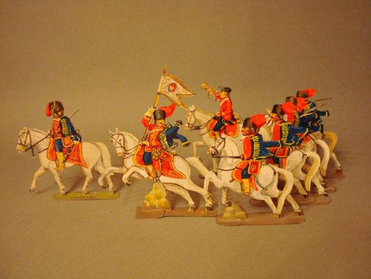 Schachtel 195 - Bild 3  - Österreich Husaren-Regiment Nadasdy
