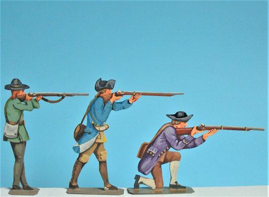 Schachtel 030  - Bild 5 - Neu - England, Miliz, Trapper, Farmer