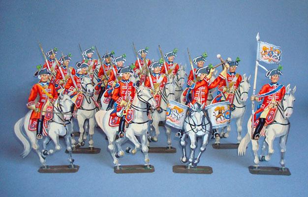 Schachtel 095 - Bild 1 - Hannover Garde du Corps
