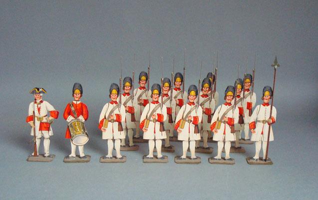 Schachtel 061 - Bild 1 - Franz. Grenadiere Reg. Bearn