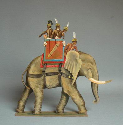 Schachtel 029 - Bild 3 - Nubier Kriegselefant