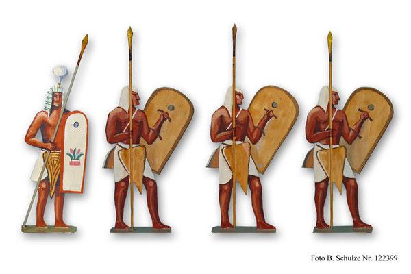 Ägypten Garde Rames II