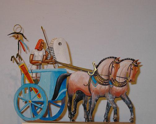 Ägypten Standartenwagen