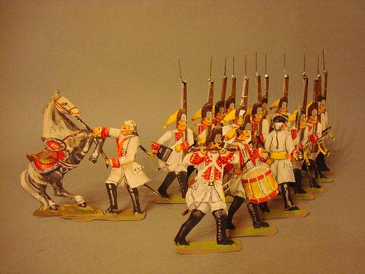 Österreich Grenadiere rot vorgehend