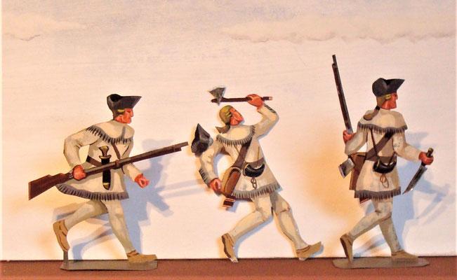 Schachtel 031  - Bild 2 - Neu - England, Miliz, Trapper, Farmer