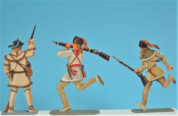 Schachtel 030  - Bild 14 - Neu - England, Miliz, Trapper, Farmer