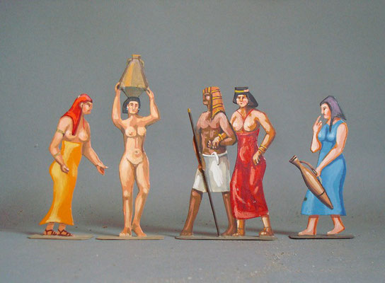 Schachtel 002 - Bild 6 - Ägyptisches Volk