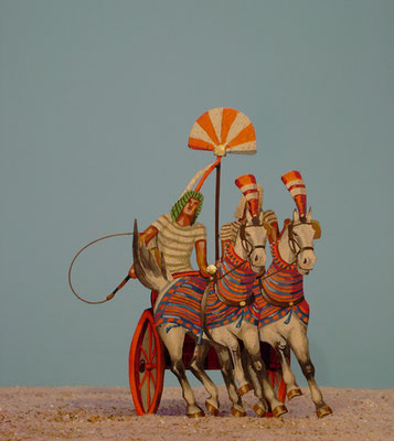 Ägypten Kampfwagen  vollplastisch