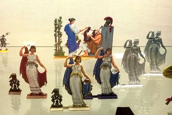 Einige Beispiele ausgestellt in der Plassenburg