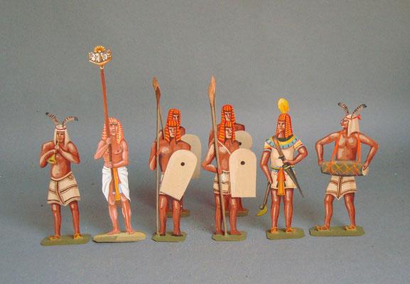 Schachtel 001 - Ägyptische Infanterie rot