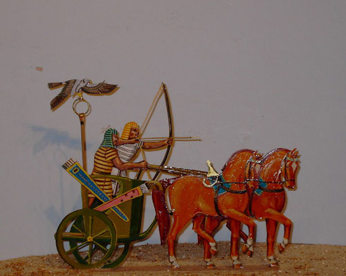 Schachtel 018 - Bild 11 - Ägypten Standartenwagen