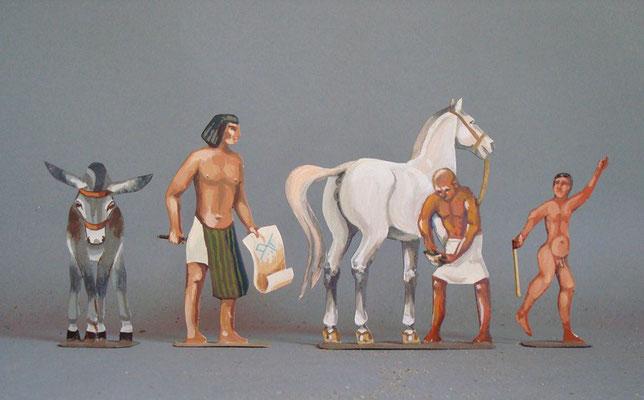 Schachtel 002 - Bild 10 - Ägyptisches Volk
