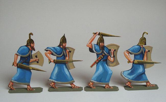 Cheta assyrische Bundesgenossen blau