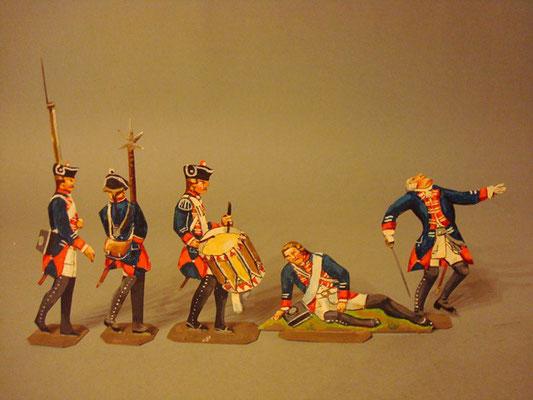 Schachtel 184 - Preußen Musketiere Infanterie-Regiment Nr. 8