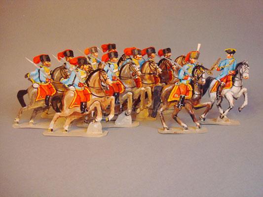Schachtel 196 - Bild 1  - Österreich Husaren-Regiment Dessowffy