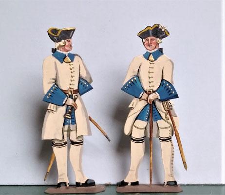 Schachtel 082 - Bild 10 - Offiziere Regt. Roussilion