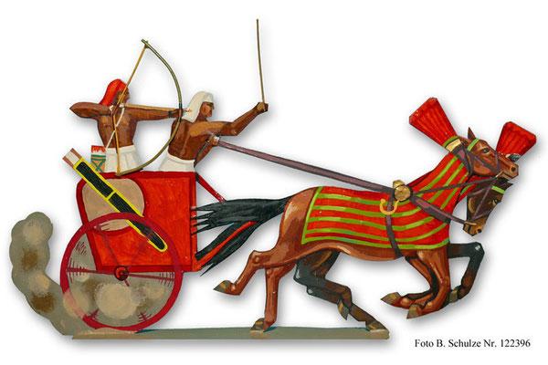 Schachtel 015 - Bild 6 - Ägypten Streitwagen  Rames II