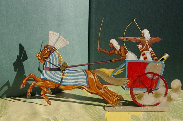 Schachtel 028a - Bild 12 - Ägypten Kampfwagen