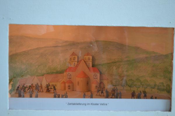 Zehntablieferung am Kloster Veßra