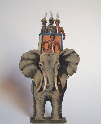 Schachtel 029 - Bild 8 - Nubier Kriegselefant