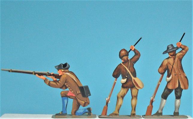Schachtel 030  - Bild 10 - Neu - England, Miliz, Trapper, Farmer