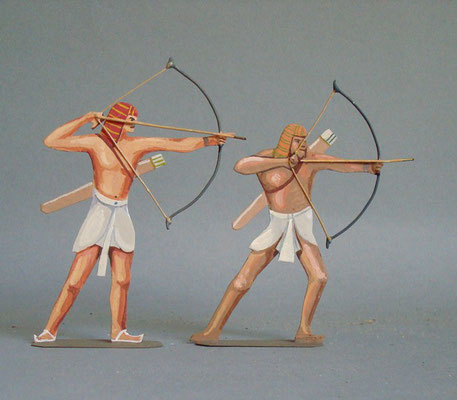 Schachtel 011 - Bild 4 - Ägypten Bogenschützen