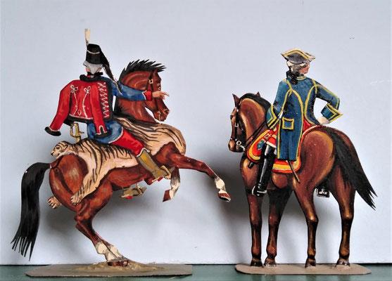Schachtel 082 - Bild 5 - Husaren Oberst und General en Chef