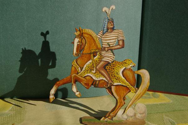 Ägyptischer Meldereiter