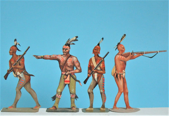 Schachtel 085 - Bild 1 -  Irokesen Indianische Hilfstruppen