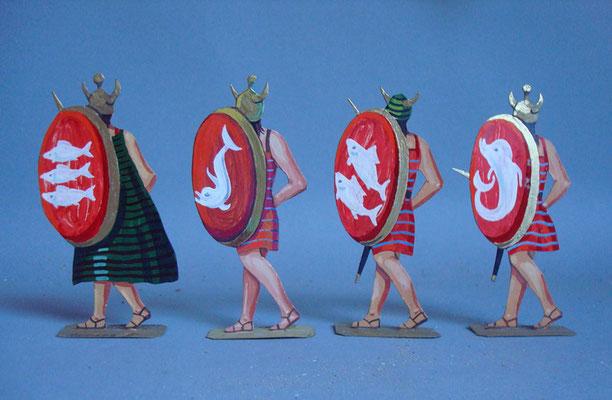 Schachtel 003 - Bild 3 - Ägypten Leibwache Schardana