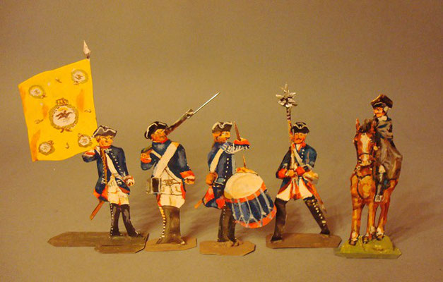 Schachtel 184 - Bild 3  - Preußen Infanterie-Regiment Nr. 3