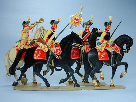 Schachtel 147 - Bild 1  - Herzogtum Braunschweig Carabiniers