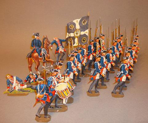 Schachtel 184 - Bild 2  - Preußen Musketiere Infanterie-Regiment Nr. 8