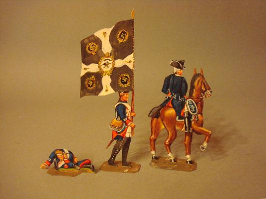 Schachtel 184 - Bild 3  - Preußen Musketiere Infanterie-Regiment Nr. 8
